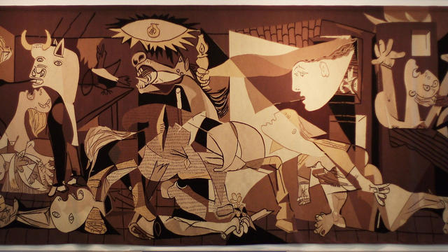Life Size Tapestry Of Picasso's Guernica