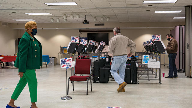 Georgians Go To The Polls In Critical Senate Runoff Election