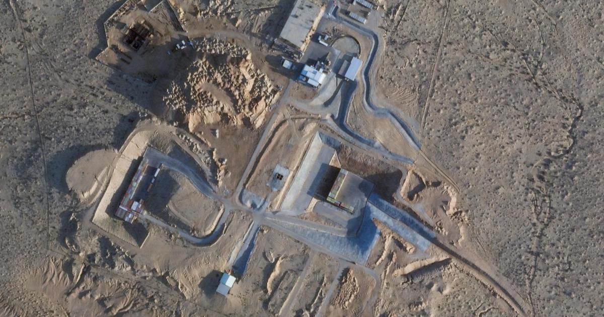 Major construction work seen at secretive Israeli nuclear facility