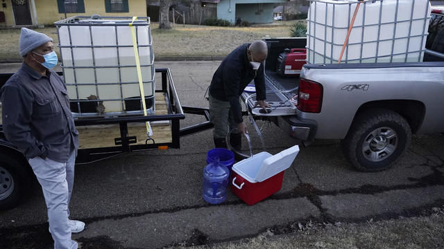 Winter Weather Deep South Water Woes