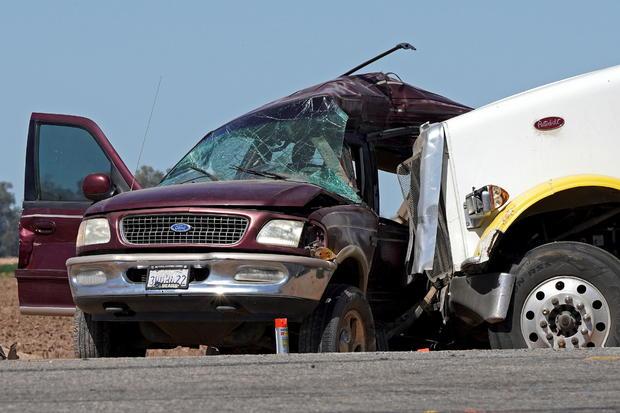 California car crash collision Holtville