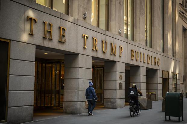 Trump-Branded New York Building Looks To Remove President's Name