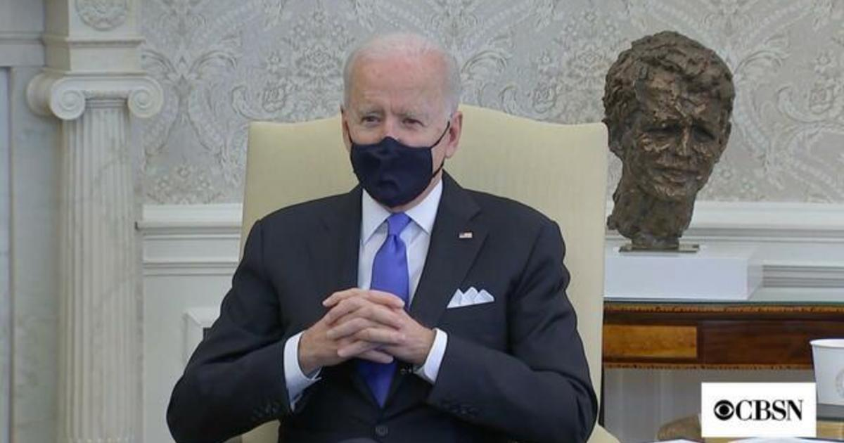 President Biden criticizes Texas and Mississippi for lifting mask mandates