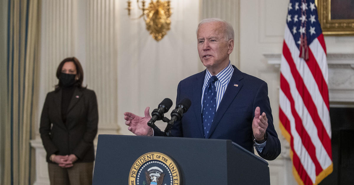 How to watch Biden's prime-time address to mark COVID-19 anniversary