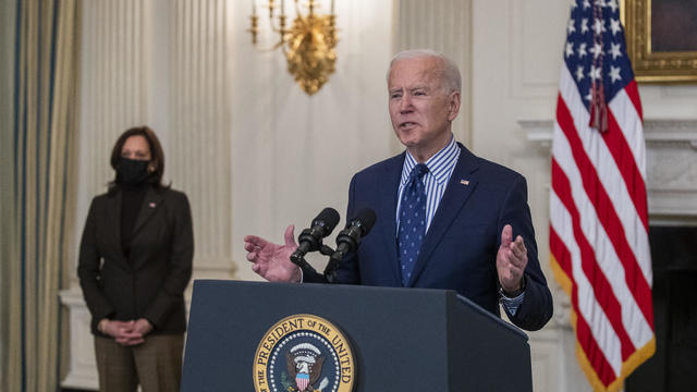 President Biden Speaks After Senate Passes $1.9 Trillion Relief Bill