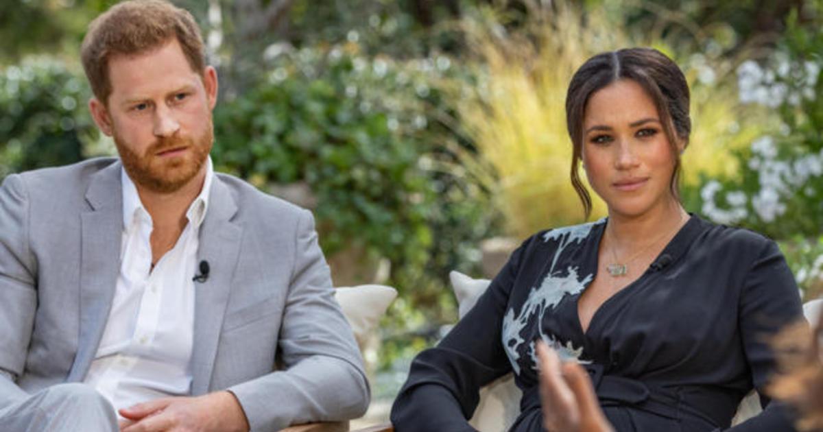 Meghan dan Pangeran Harry bertemu dengan Oprah Winfrey dalam wawancara CBS yang tidak biasa thumbnail
