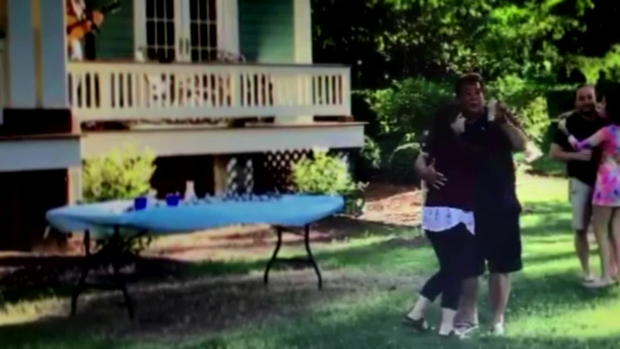 Steve and Lana Clayton dancing
