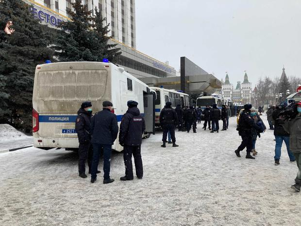 Raid and arrests in Moscow