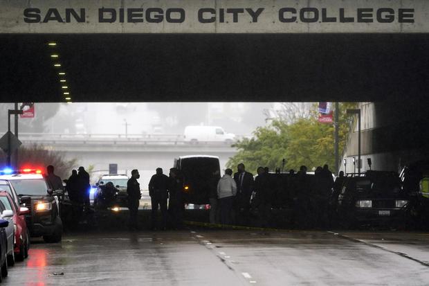 San Diego pedestrians hit