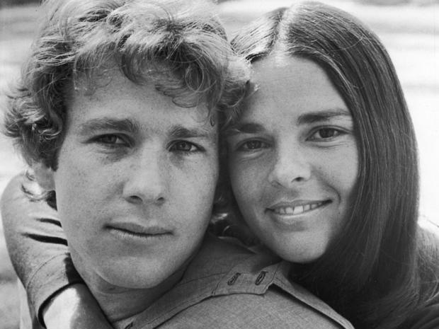 Portrait Of O'Neal And MacGraw In 'Love Story,' 1970.