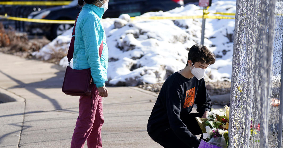 Police identify victims in Boulder, Colorado, grocery store shooting