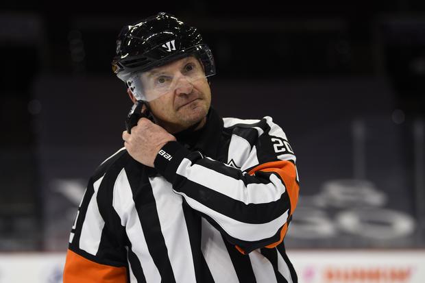 Referee Hot Mic Hockey