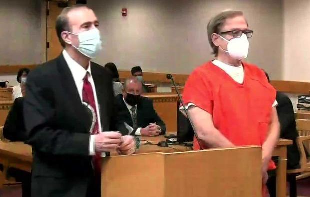 Steve Pankey in court