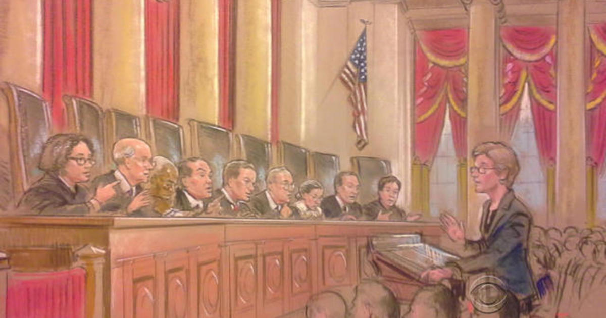 Supreme Court hears arguments in same-sex marriage case
