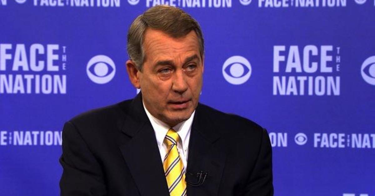 "John Boehner: Confederate flag ""should be gone"" from national cemeteries"