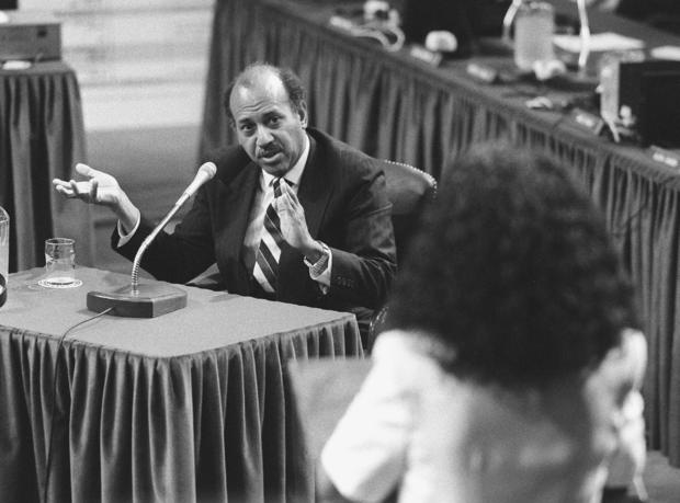 HASTINGS IMPEACHMENT--Alcee Hastings testifying at his impea