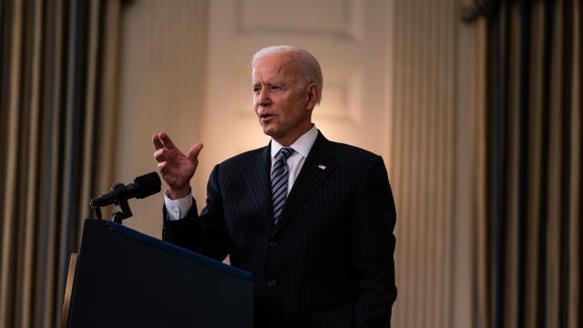 US President Joe Biden remarks on the state of vaccination