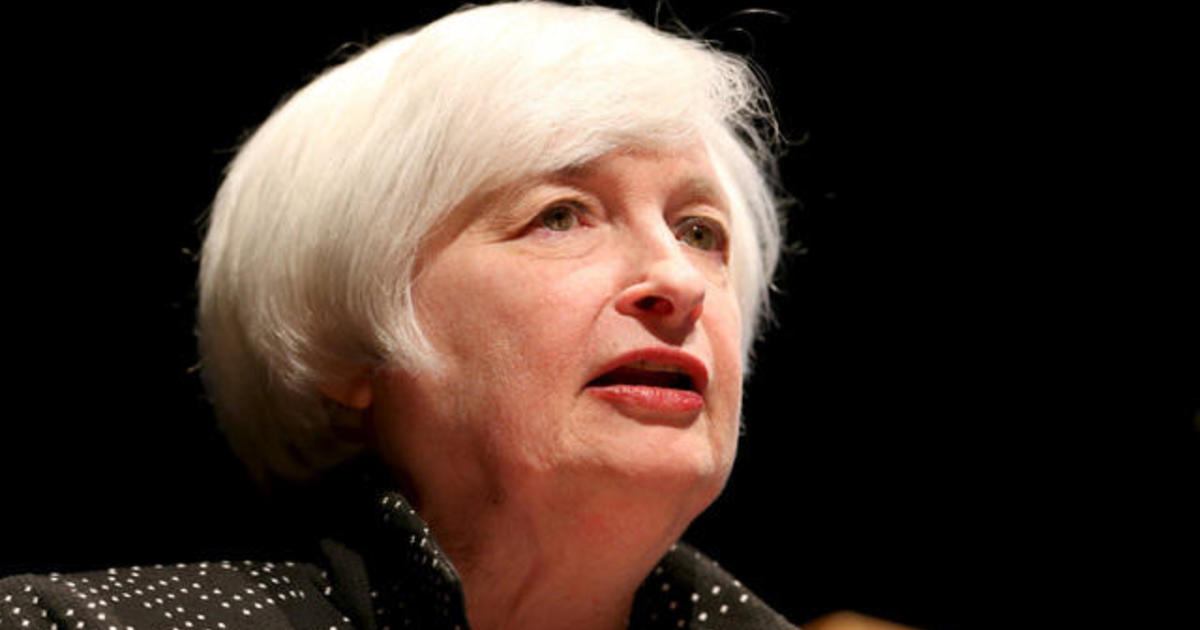MoneyWatch: Fed chair speaks out on interest rates; Minimum wage hike set for Berkeley, California
