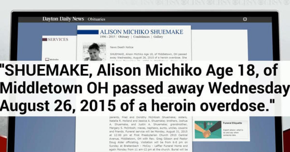 Family's obituary raises awareness about heroin
