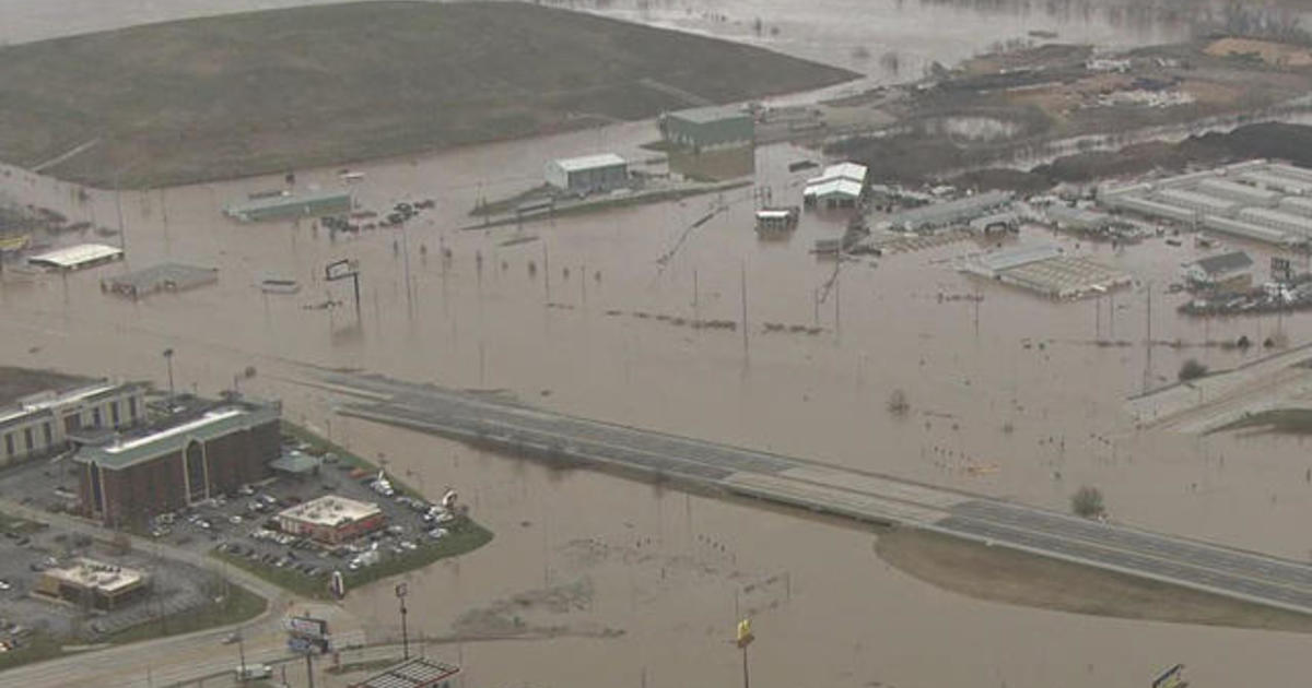 Midwest under threat of severe flooding