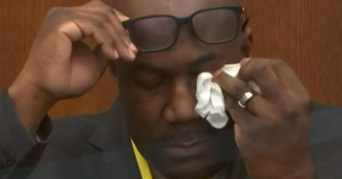 George Floyd's brother gives emotional testimony