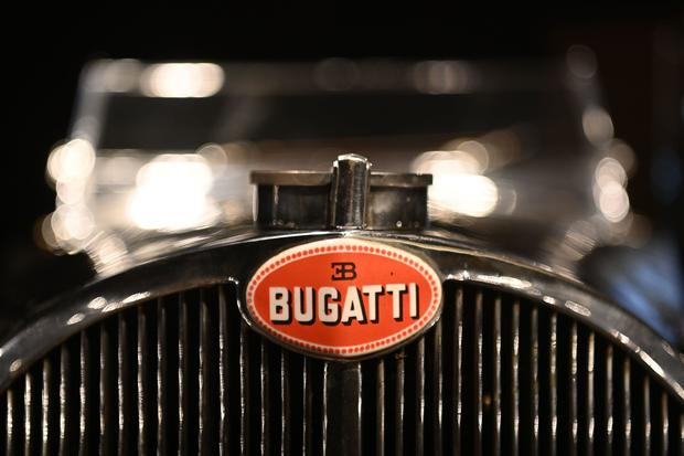 Bugatti found in garage