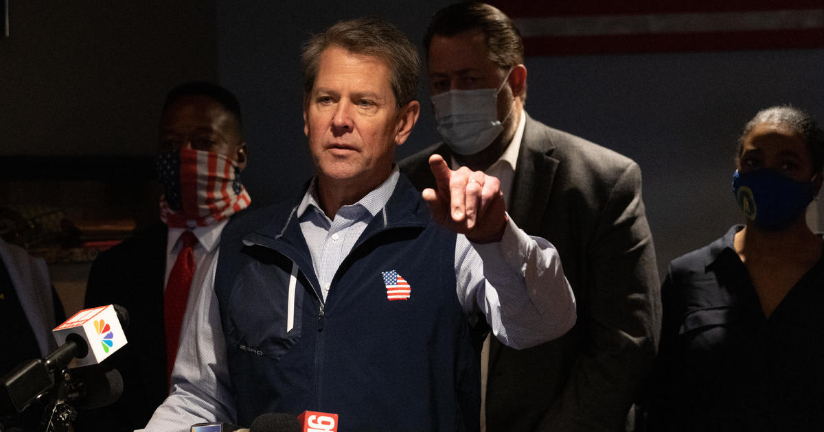 Georgia GOP Governor Brian Kemp faces primary challenge from former Democrat