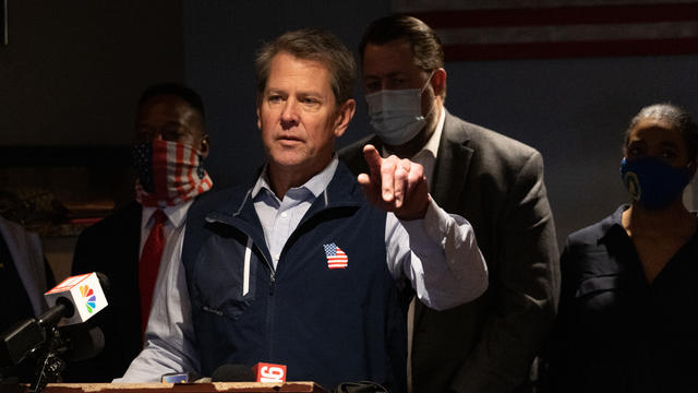 Georgia Governor Kemp, RNC Hold Press Conference On Election Integrity Law