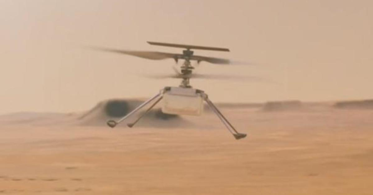 NASA celebrates success of Ingenuity's historic first flight on Mars