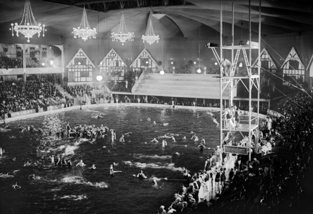Madison Square Garden as a Swimming Pool