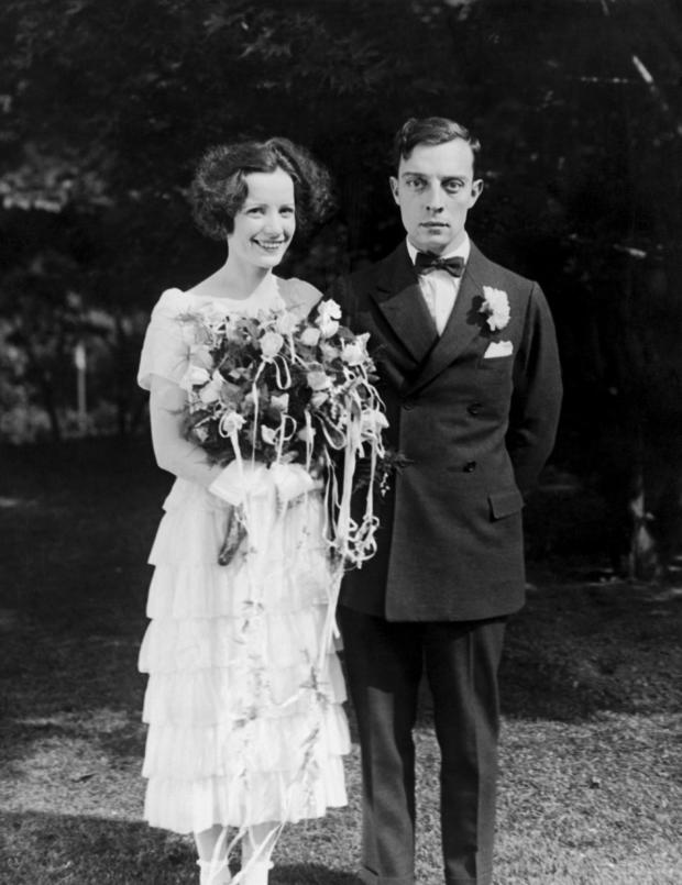 Wedding Of Natalie Talmadge And Buster Keaton, 1921