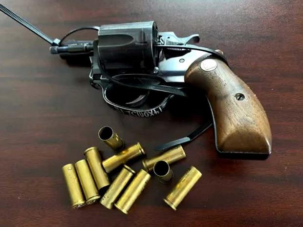 Gun used to kill Ray Green