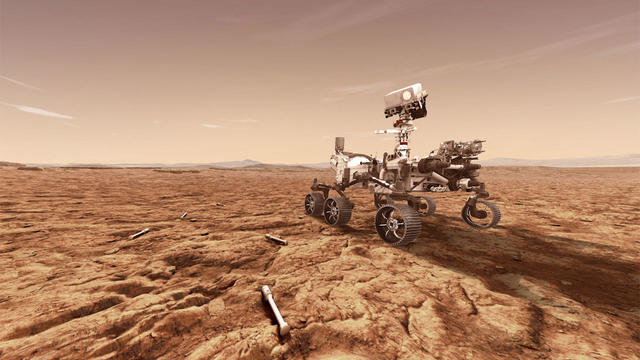 NASA Perseverance Rover Lands On Mars