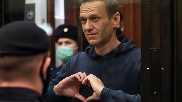 Alexei Navalny sentenced to 3.5 years in prison