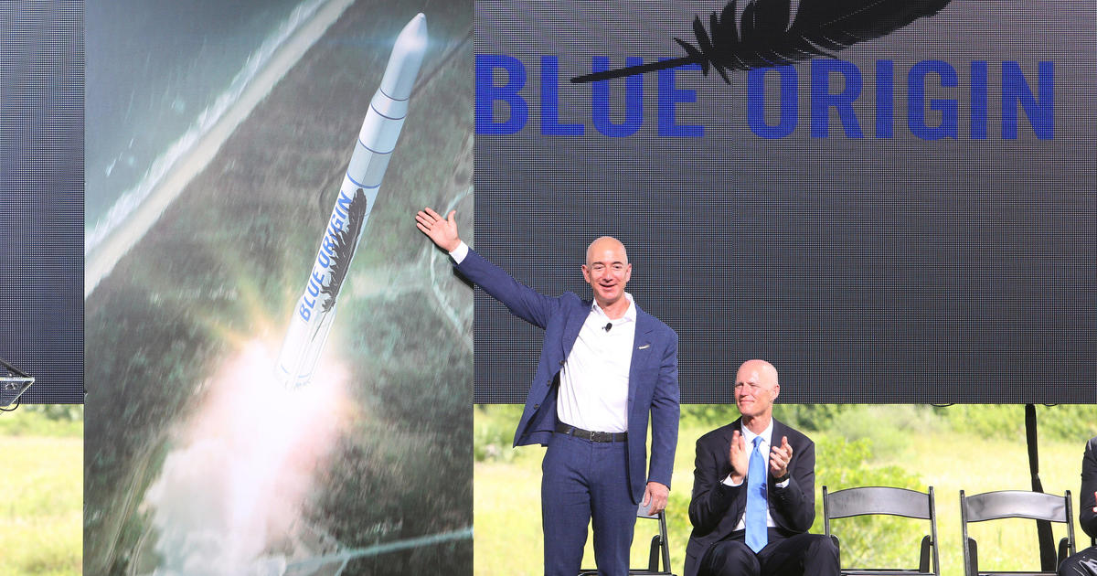 Jeff Bezos is selling tickets to board a rocket ship into space