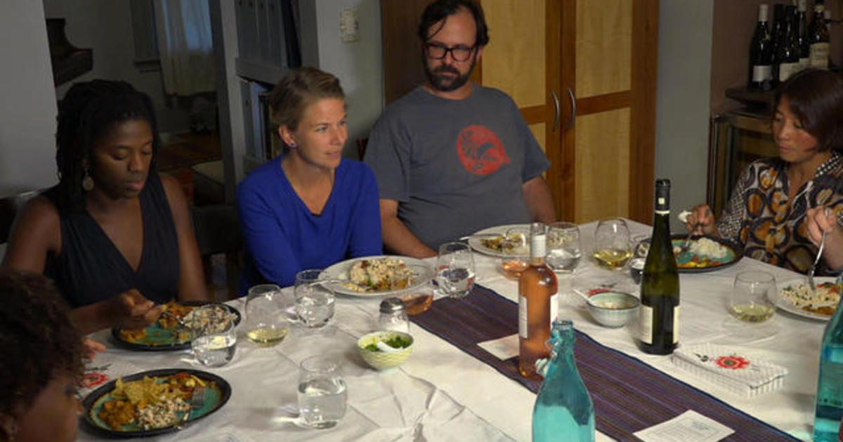 Dinner parties aim to bridge post-election divide