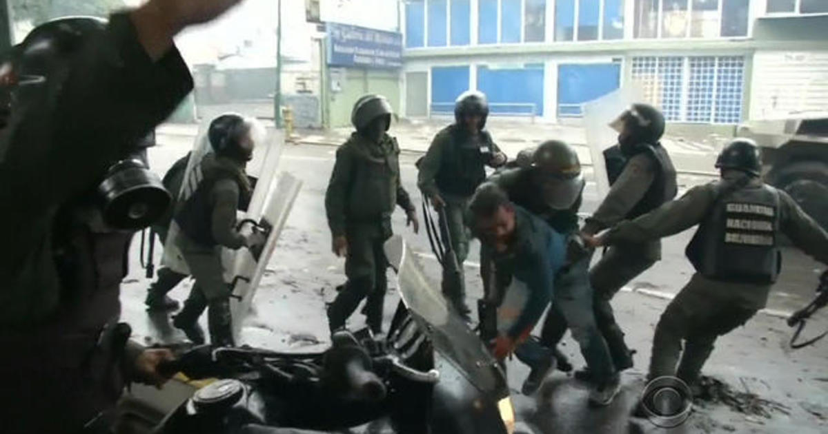 Riots break out on election day in Venezuela