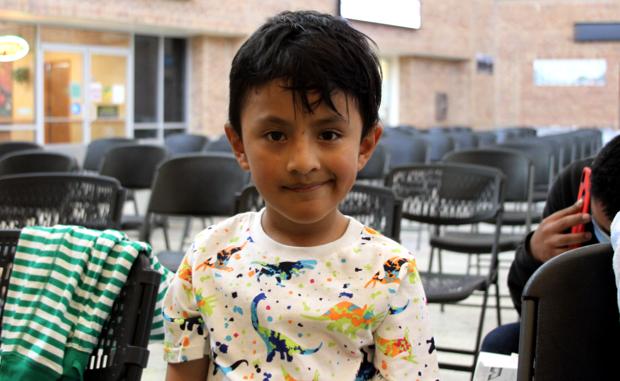 child at border facility