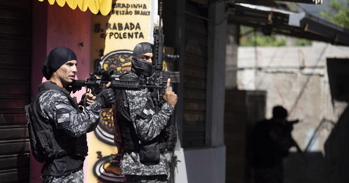 Dozens killed in Brazilian police raid in Rio de Janiero