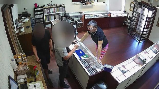 David Anthony security video