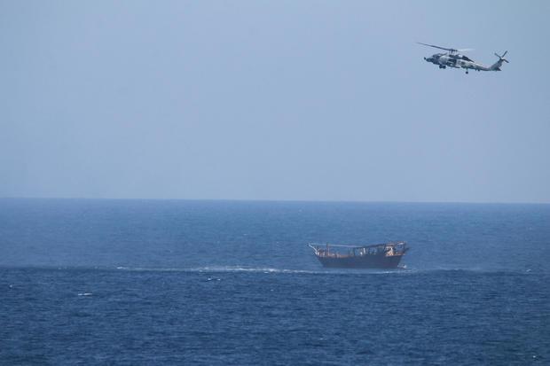 U.S. Navy seizes weapons Arabian Sea