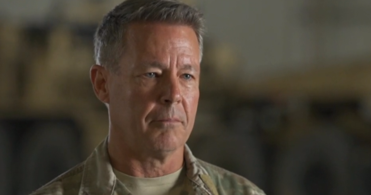 """Afghan forces """"have to be ready"""" as U.S. withdraws, top commander says"""