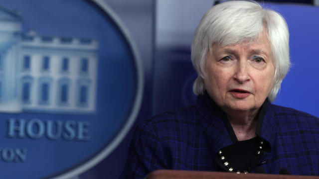 White House Press Secretary Psaki Holds Media Briefing With Treasury Secretary Yellen