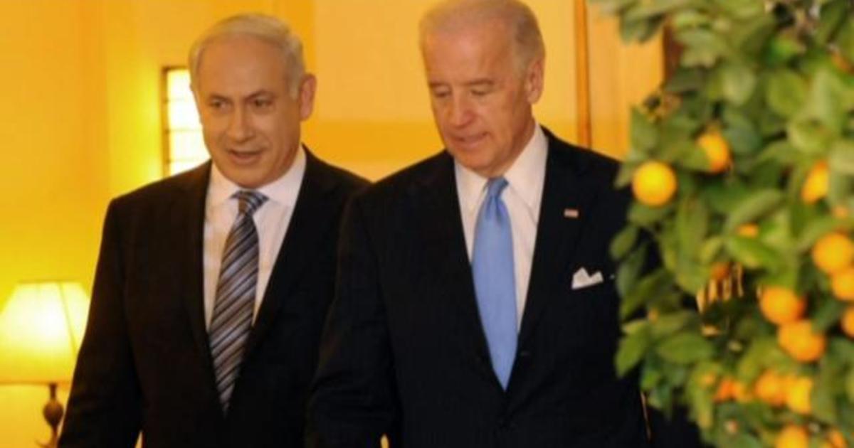 Biden speaks with Palestinian and Israeli leaders