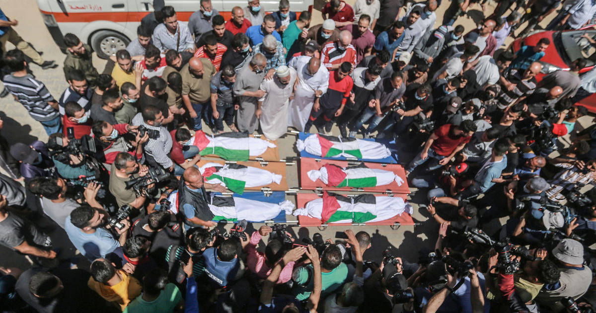 Israeli airstrike on Gaza home kills at least 10 people, most of them children