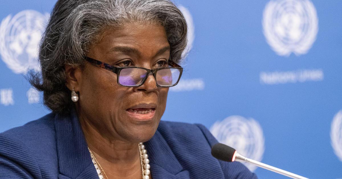 U.S. ambassador to U.N. calls for de-escalation in Middle East