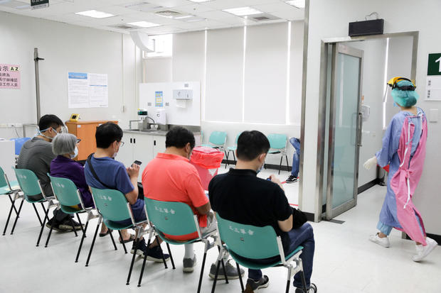 Vaccinations as Outbreak of Just 23 Cases Sees Rush on Vaccines in Taiwan