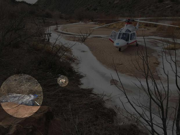 Leo Bilyeu helicopter rescue