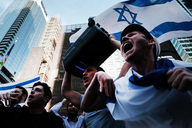 Rally In Support Of Israel Held In Times Square