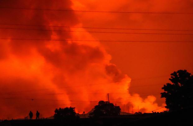 APTOPIX Congo Volcano